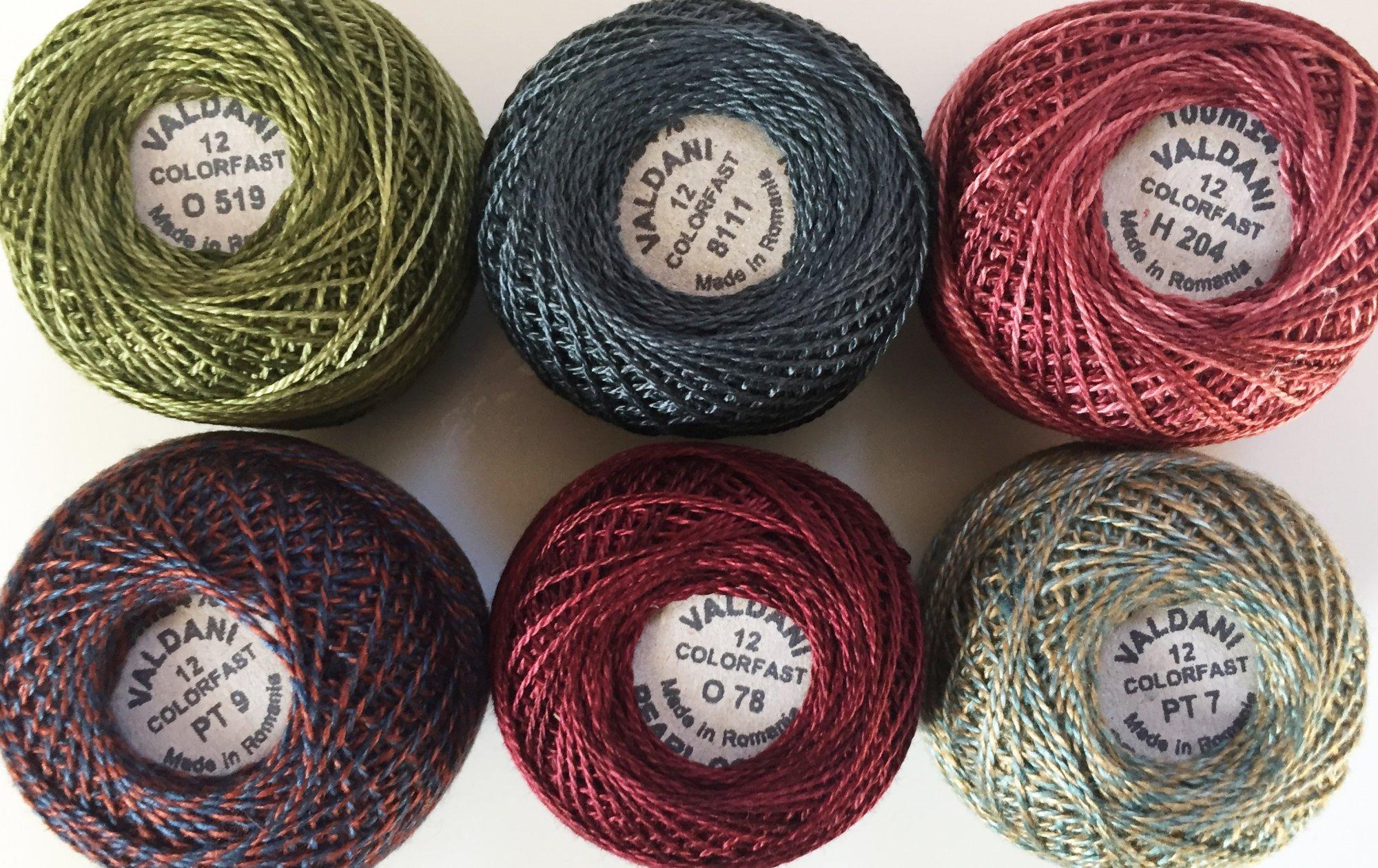 Good Wool Thread Kit - December