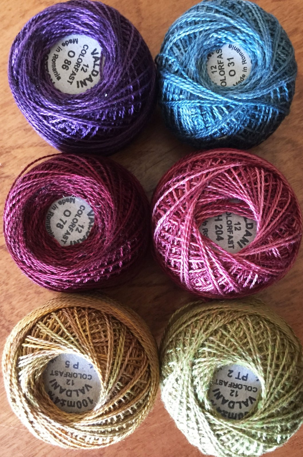Good Wool Thread Kit - April 2019