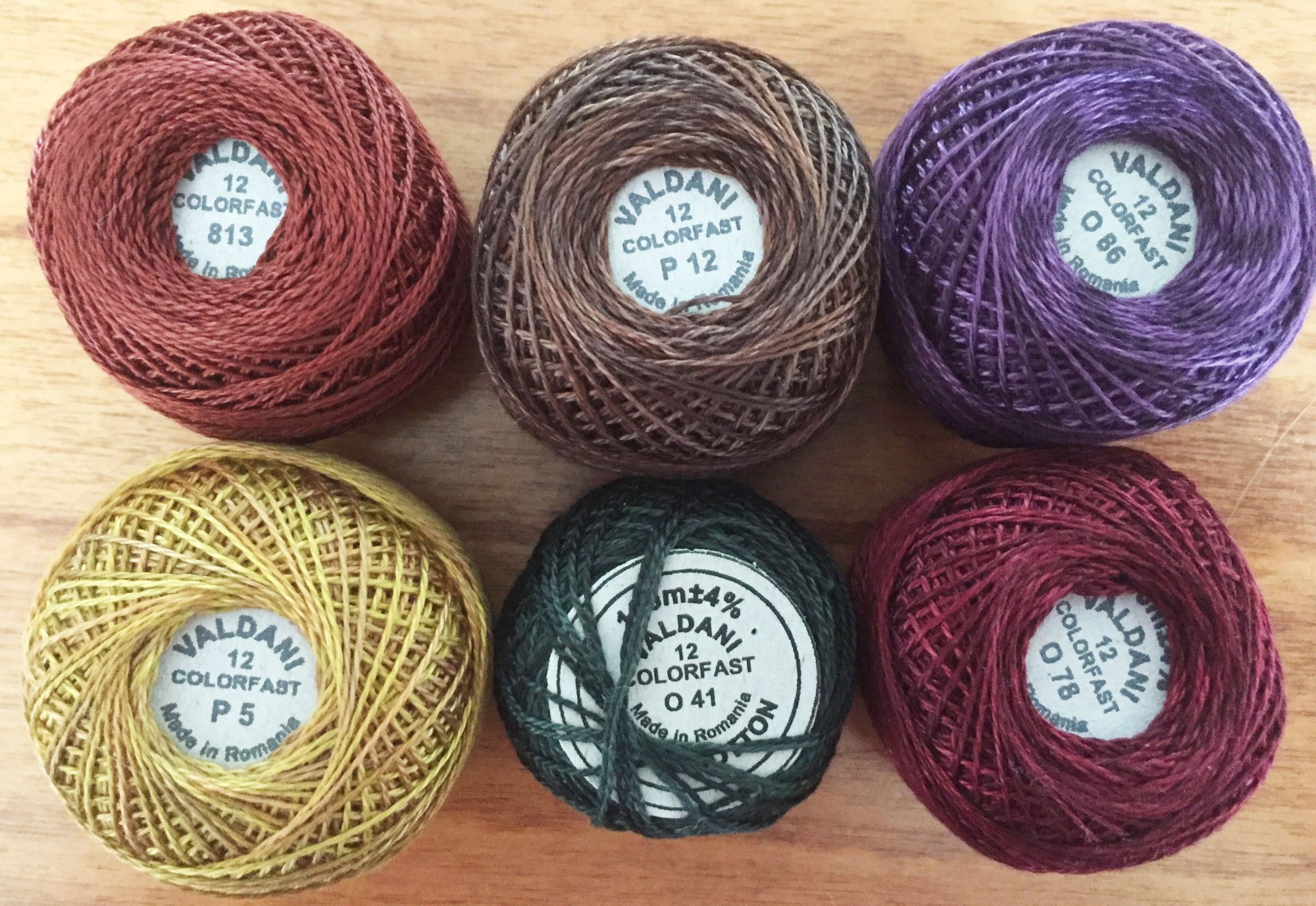 Good Wool Thread Kit - October 2019
