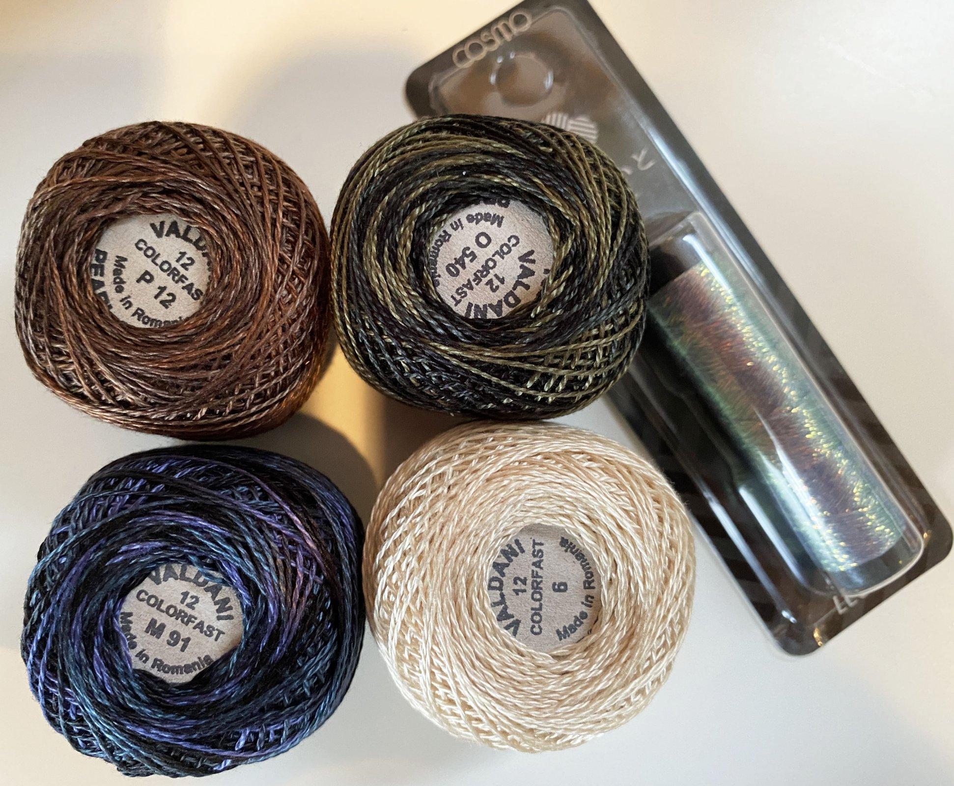 Wooly Block Adventure 2020 Thread Kit