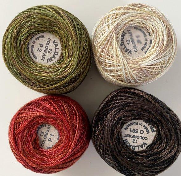 Celtic Spring Thread Kit