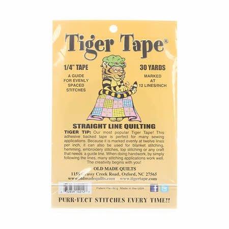 Tiger Tape - 1/4'' Tape