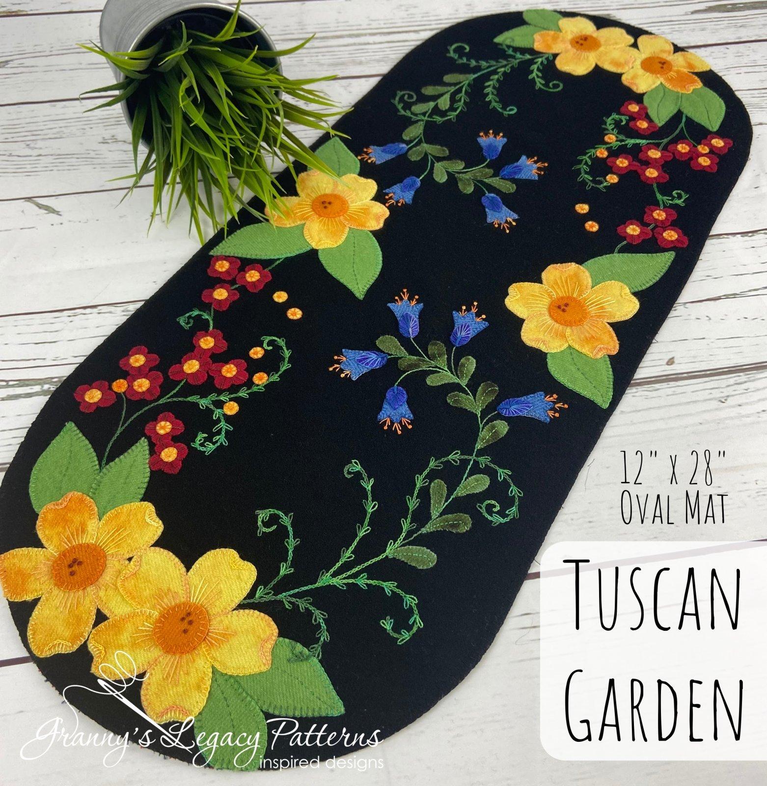 Tuscan Garden Mat Kit