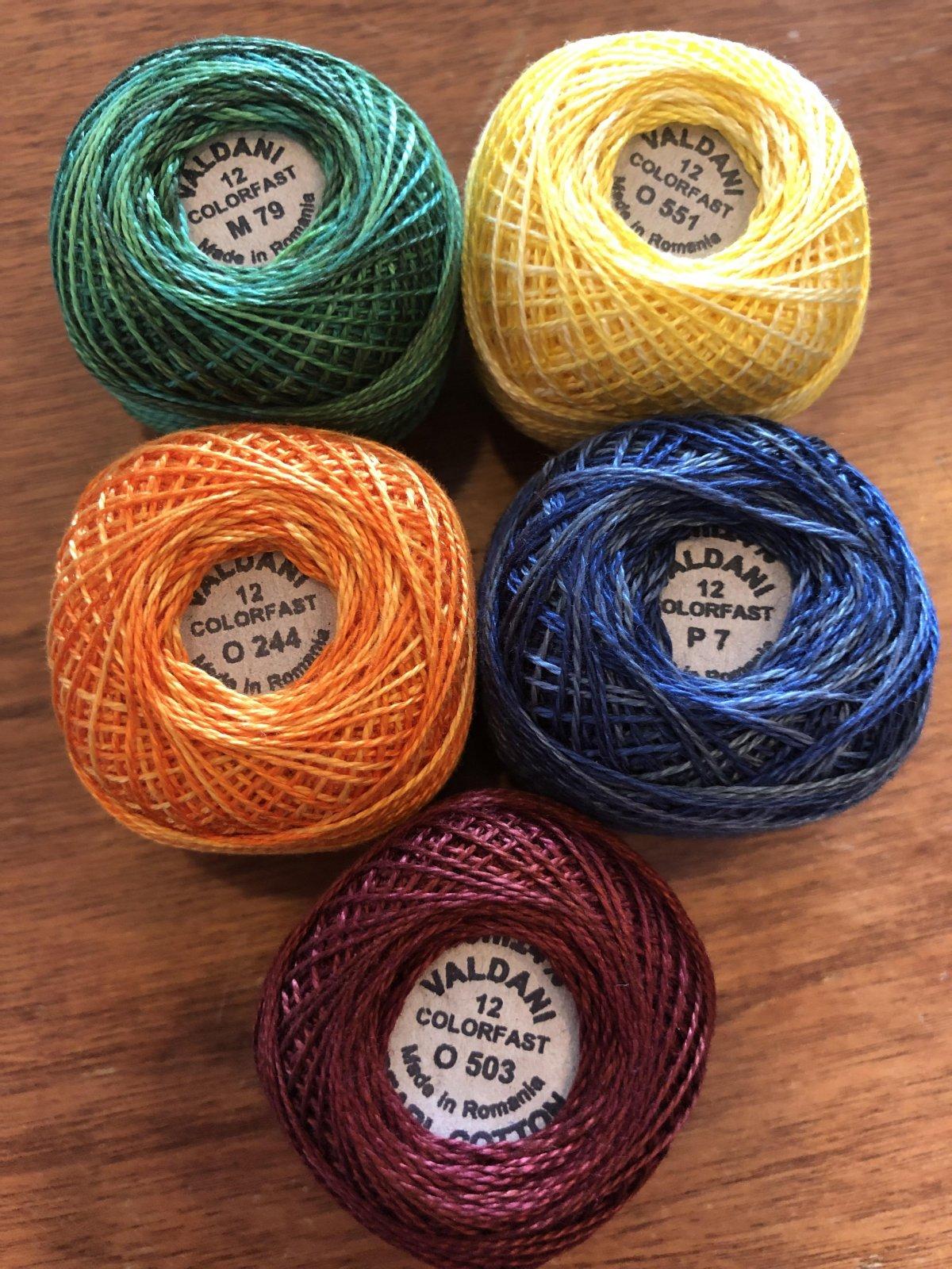 Tuscan Garden Thread Kit
