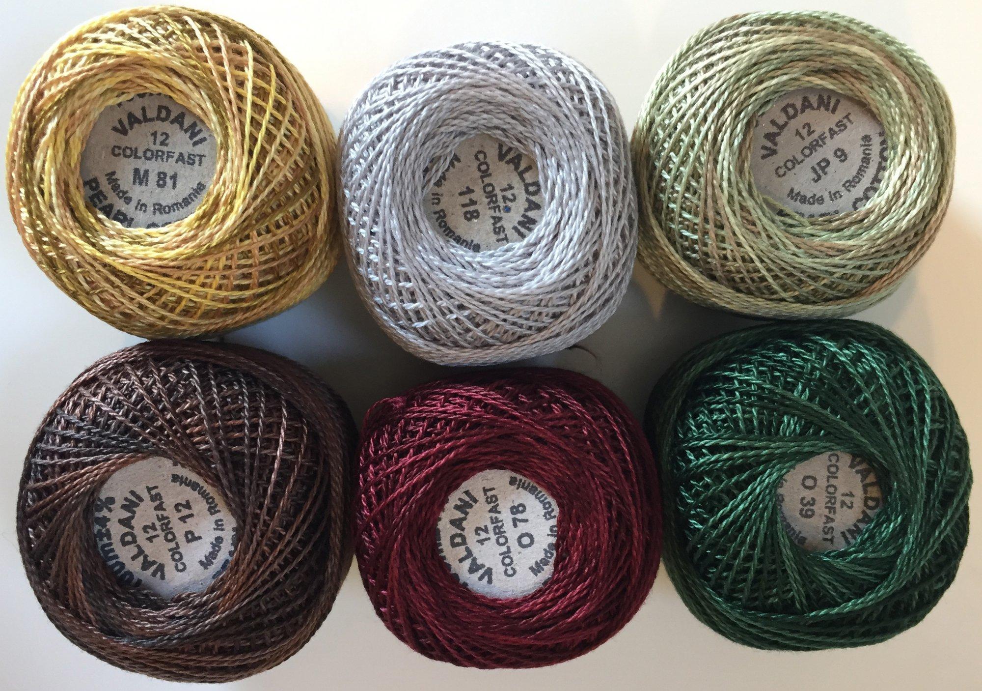Good Wool ThreadKit Size 12 - October