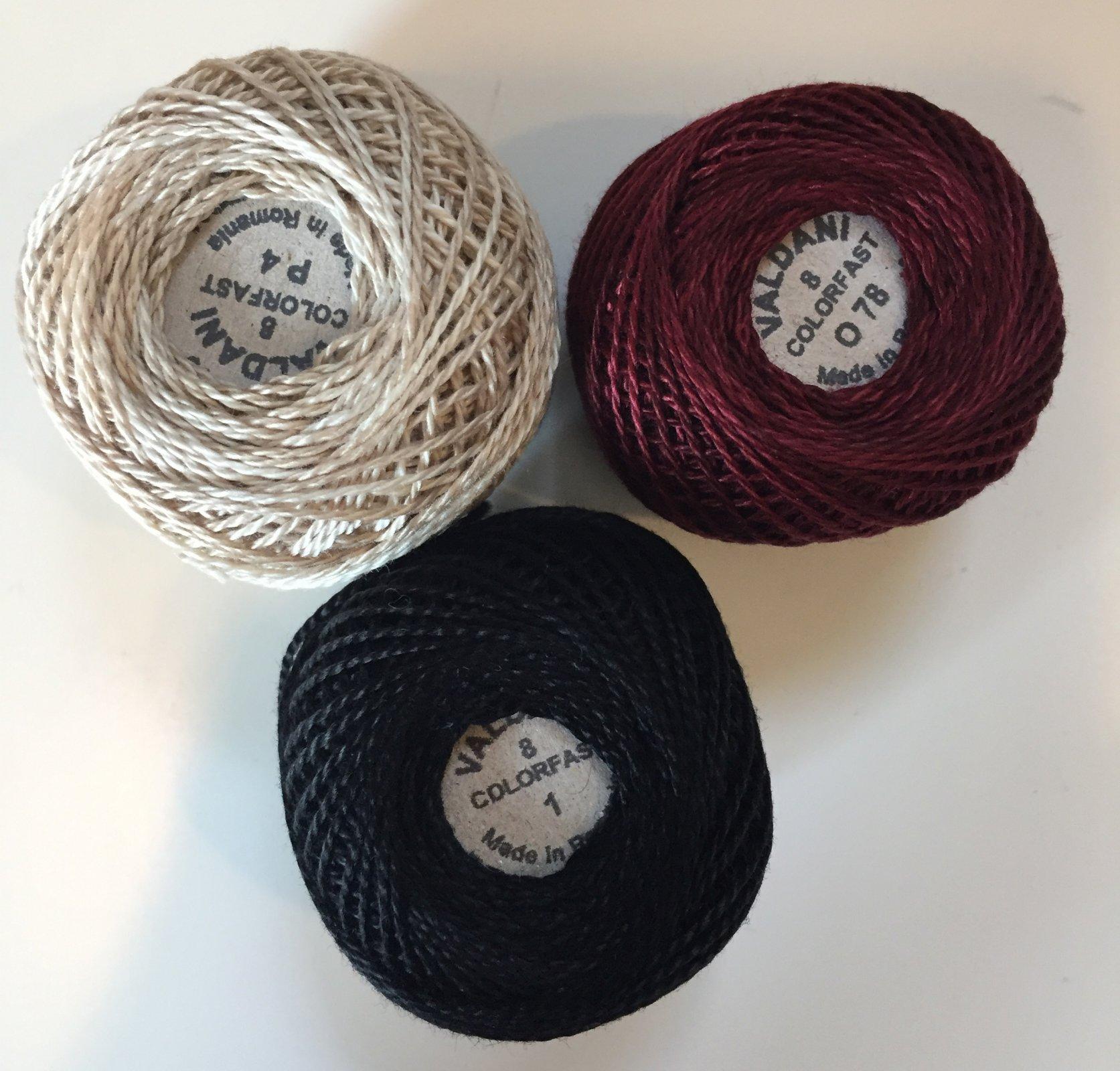 Good Wool ThreadKit Size 8 - October