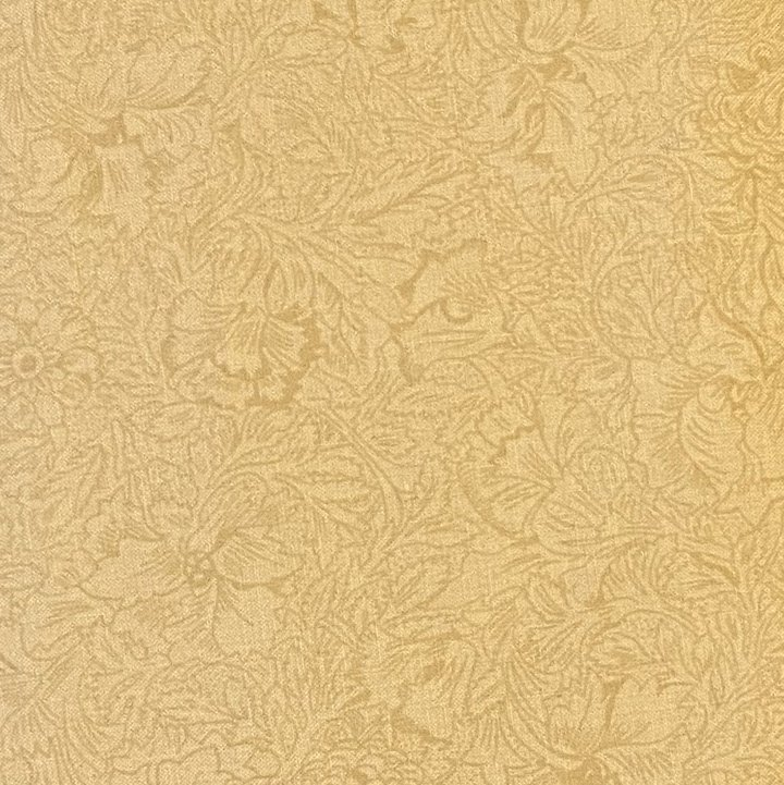 WIDE ANTIQUE FLORAL BEIGE