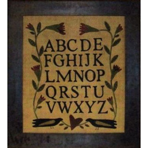 Wool Alphabet Sampler