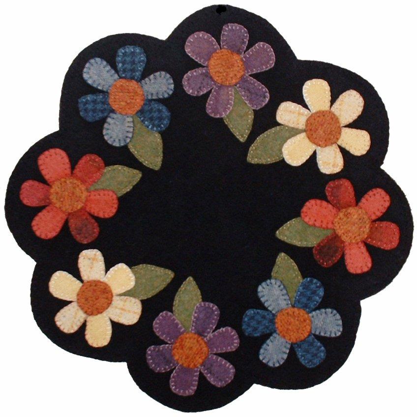 Wool Flower Mat Pattern