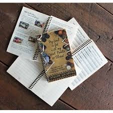 Wool Needle And Thread Notebook Organizer
