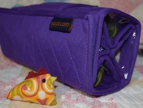 Roll-UP Bag  PURPLE -Yazzii