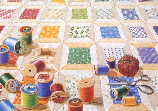 Spools Quiltscape RB41
