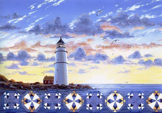 Lighthouse Quiltscape