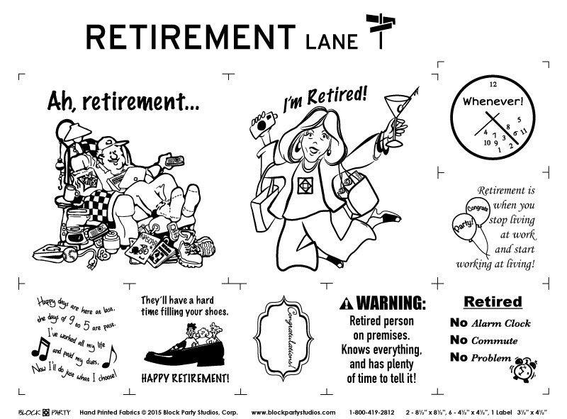Retirement Lane panel