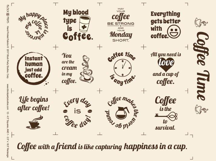 Coffee Time panel