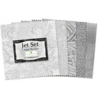 Jet Set 5 squares 24 piece pack