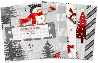 Snowy Wishes - 42 piece 5 charm pack