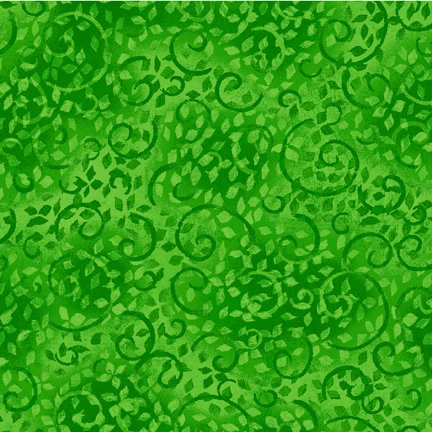 Essentials Leafy Scroll-Bright Green