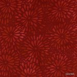 Red mums red rayon