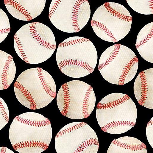 All Sports - Baseballs on Black