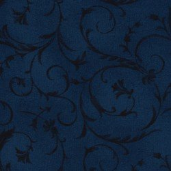 108 Beautiful Backings - Flourish Scroll Navy