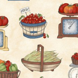 From the Farm-produce in various containers