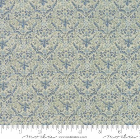 Morris Holiday-small delicate blue print