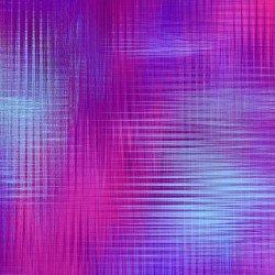 Aflutter - fuchsia & violet crosshatch