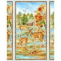 Deer Meadow - deer family scene