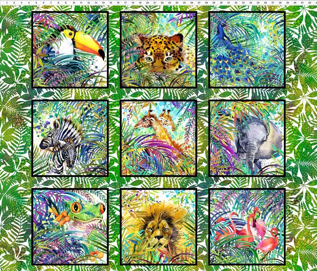Safari - Wild animal blocks
