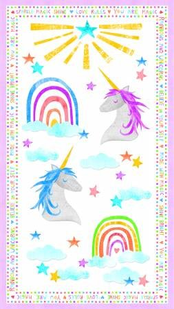 Sparkle Magic Shine - unicorn panel