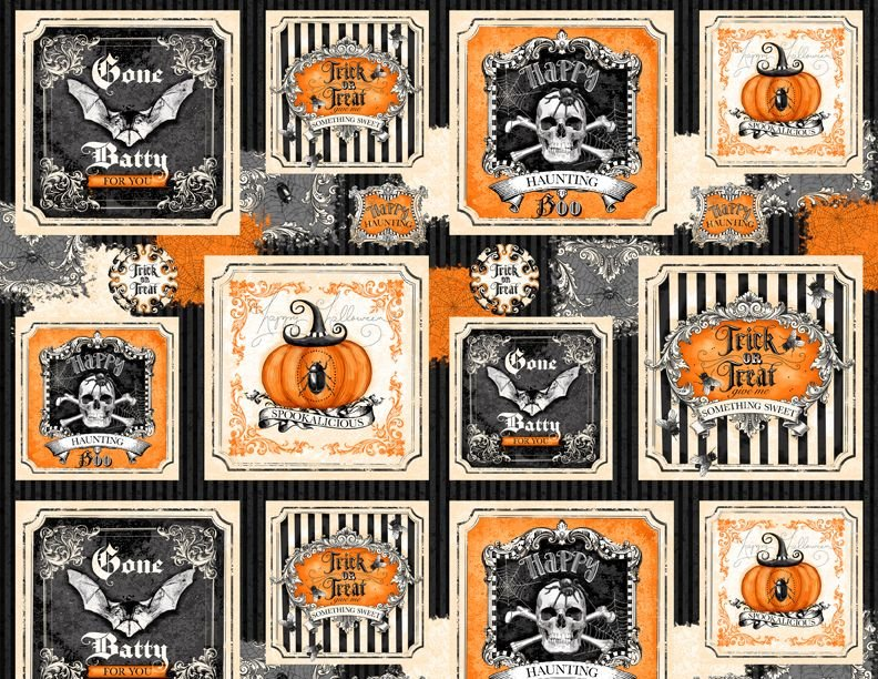 Gone Batty - Halloween themed squares