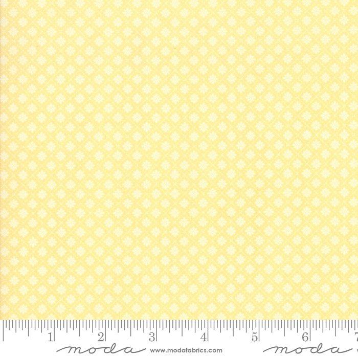Finnegan - small yellow triangles on dark yellow