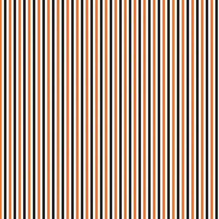 Stripe Halloween - orange, white & black