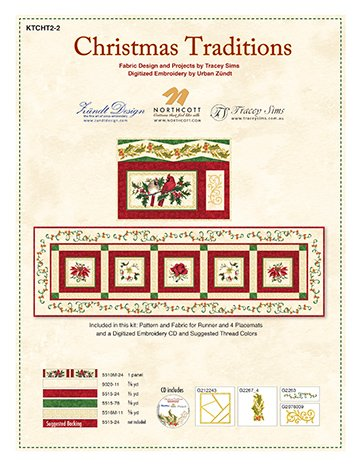 Christmas Traditions-table runner kit