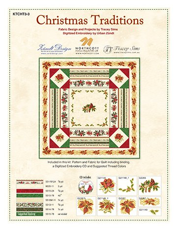 Christmas Traditions-Cardinal Quilt