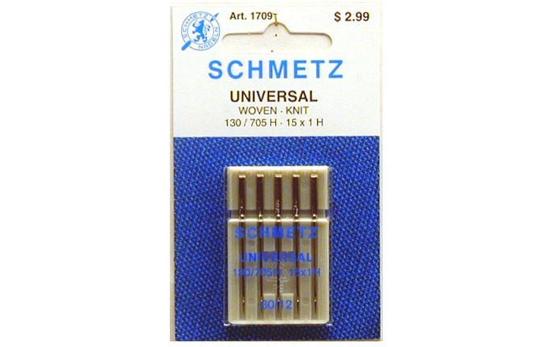 Schmetz Universal Machine Needle Size 12/80