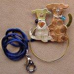 Puppy Scissor Sitter