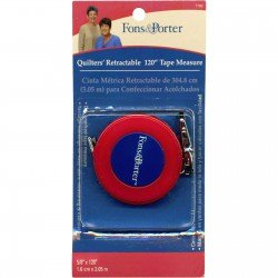 Quilters' Retractable Tape Measure