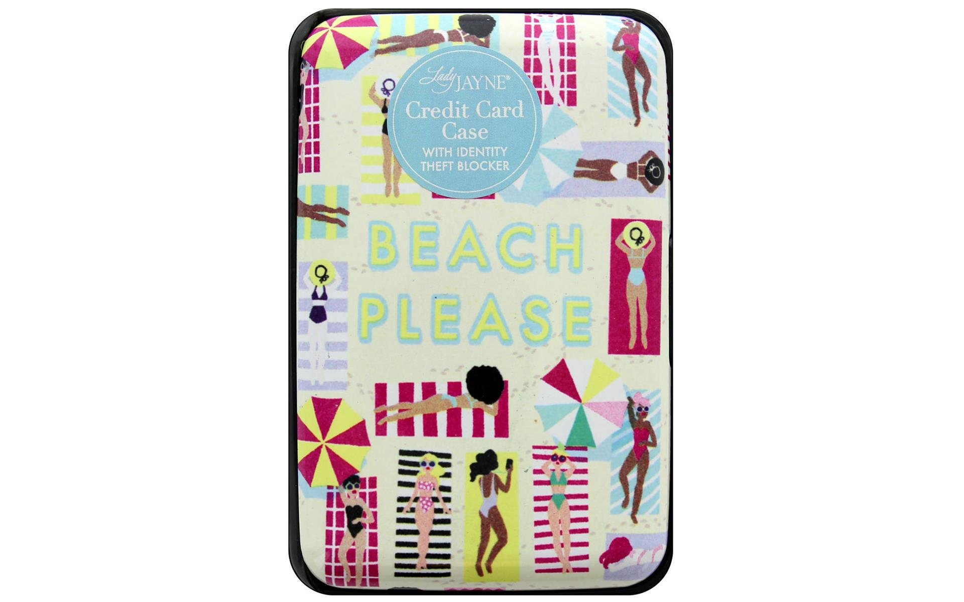 Beach Please credit card case