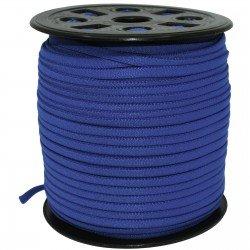 Banded Stretch Elastic - Dark Blue