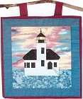 Coquille River Lighthouse Applique SOL-104