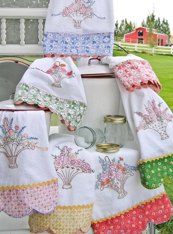 Grandma's Tea Towels