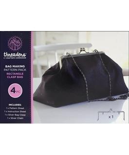Rectangle Clasp Bag