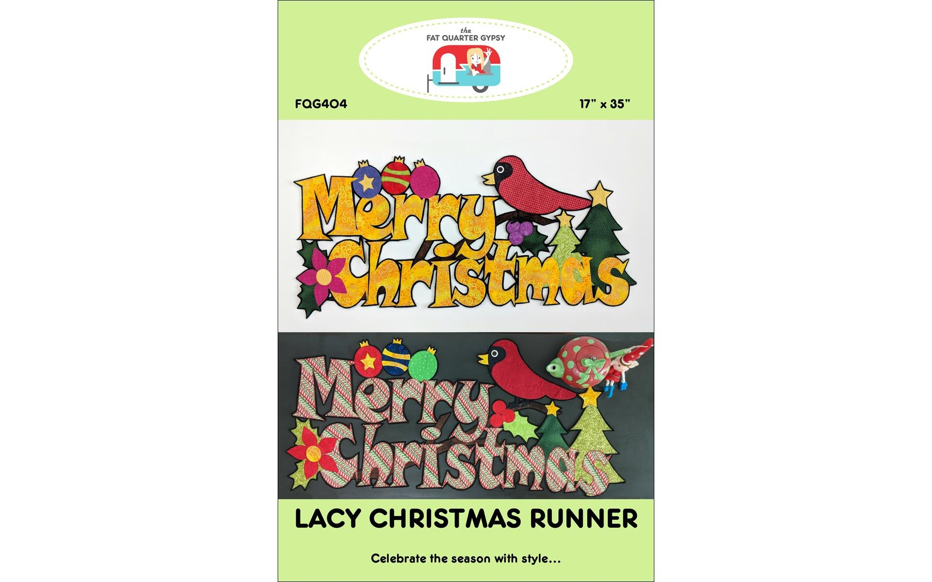 Lacy Christmas Runner