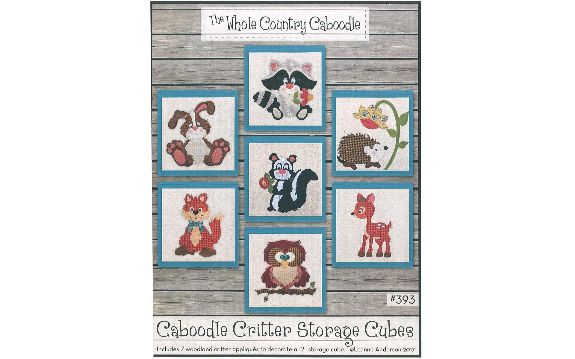 Caboodle Critter Storage Cubes