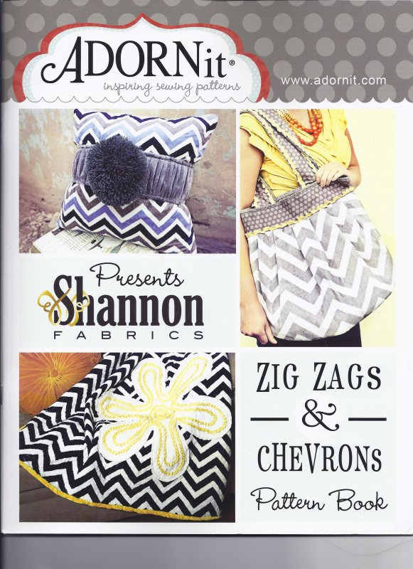 Adornit, Zig Zags and Chevrons Pattern Book