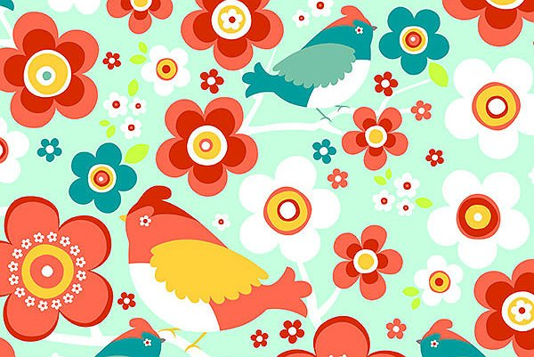 You-Pick Snuggle Blanket Top - Birds Juicy