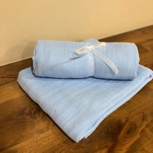 Embrace Solid Blue Swaddle Kit