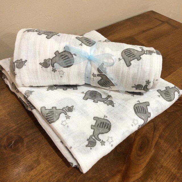 Embrace Elephant Swaddle Kit